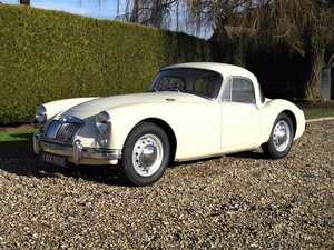 Picture of 1956 MGA Coupe. Excellent example, matching numbers. For Sale