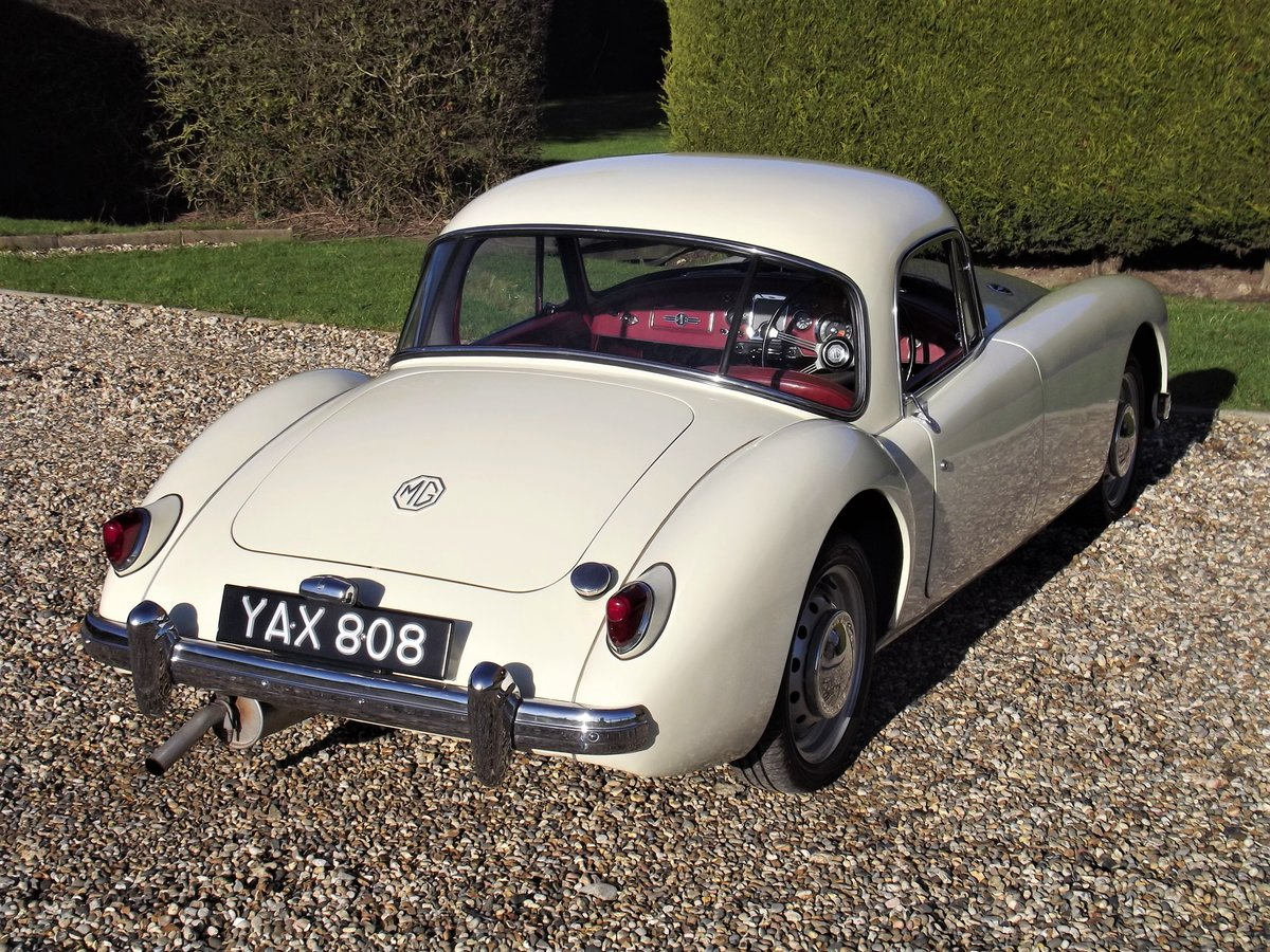 1956 MGA Coupe. Excellent example, matching numbers. For Sale (picture 20 of 27)