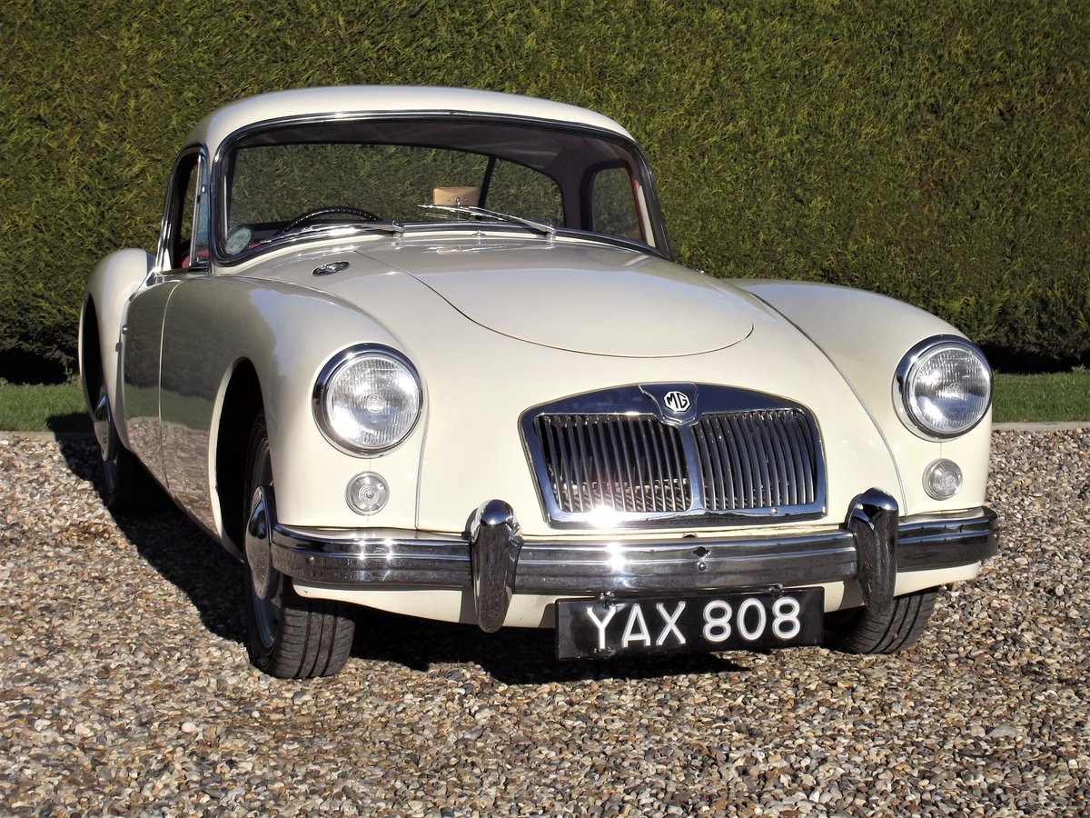 1956 MGA Coupe. Excellent example, matching numbers. For Sale (picture 25 of 27)