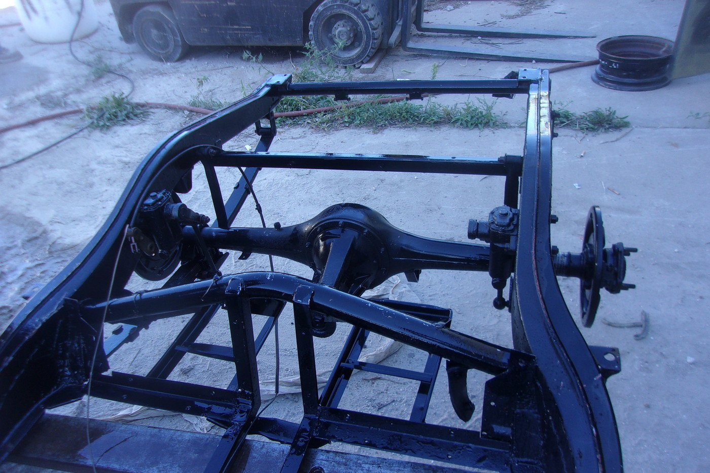 1955 thru 1962 MGA Coupe and Roadster Rolling Chassis For Sale (picture 3 of 10)