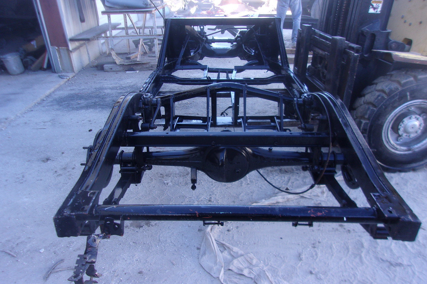 1955 thru 1962 MGA Coupe and Roadster Rolling Chassis For Sale (picture 5 of 10)