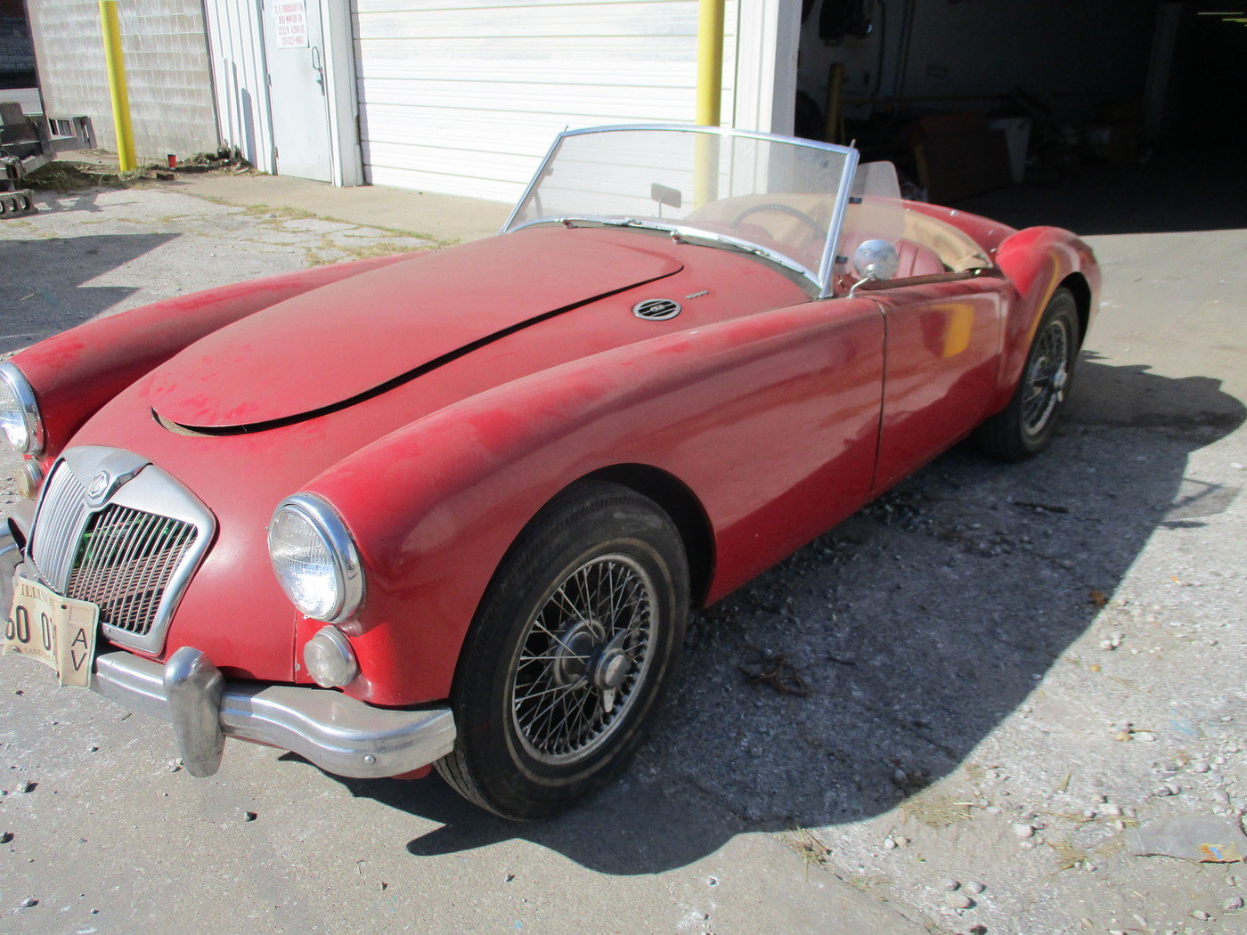 1960 MGA 1600 Roadster For Sale (picture 1 of 12)