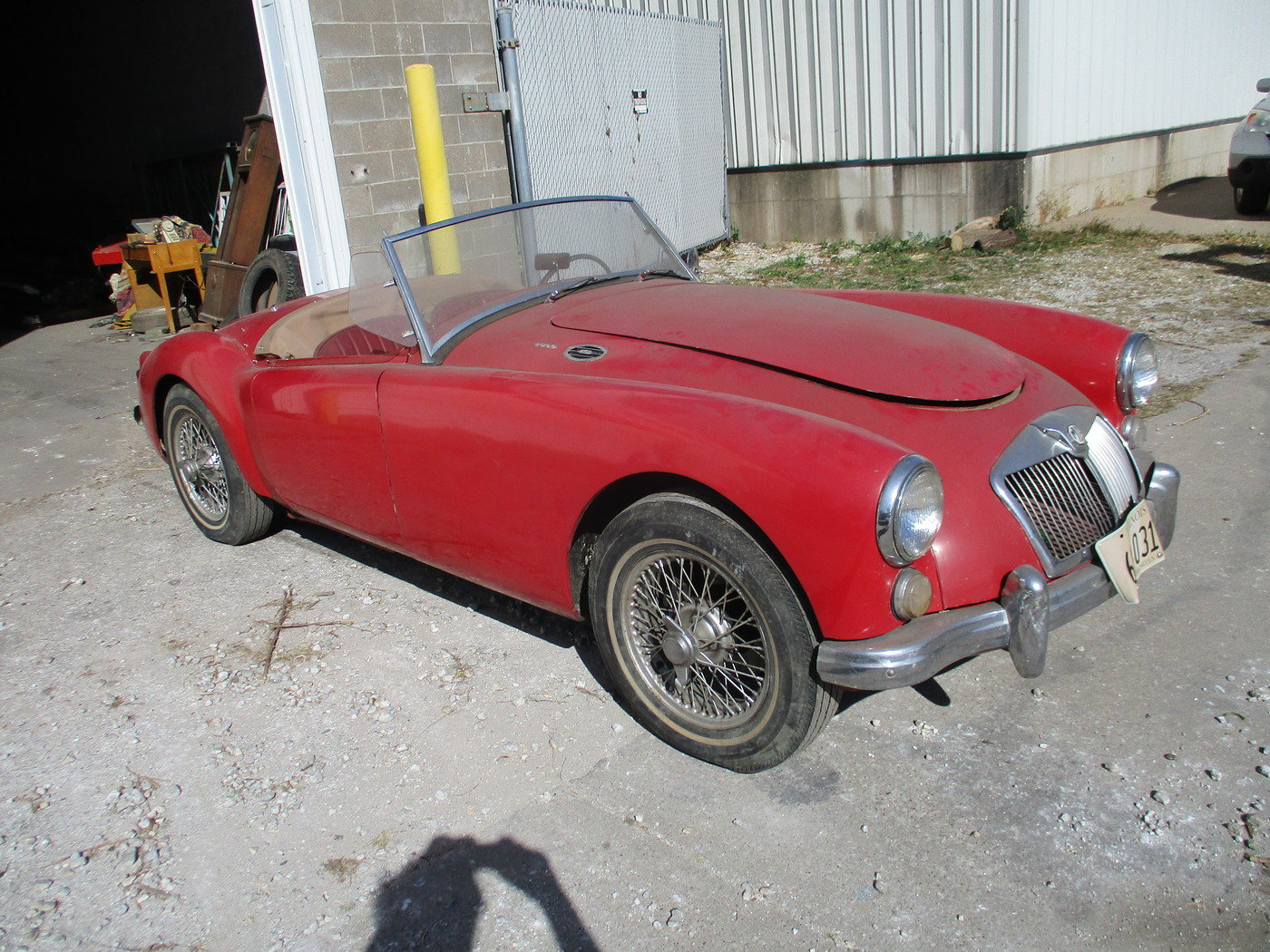 1960 MGA 1600 Roadster For Sale (picture 3 of 12)