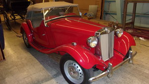 Picture of 1951 MGTD Roadster-frame off restored For Sale
