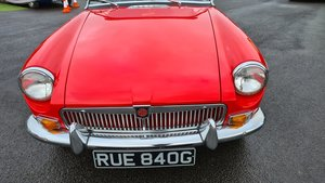 Picture of 1968 MGB HERITAGE SHELL, MK2, Professional repaint in 2020 For Sale