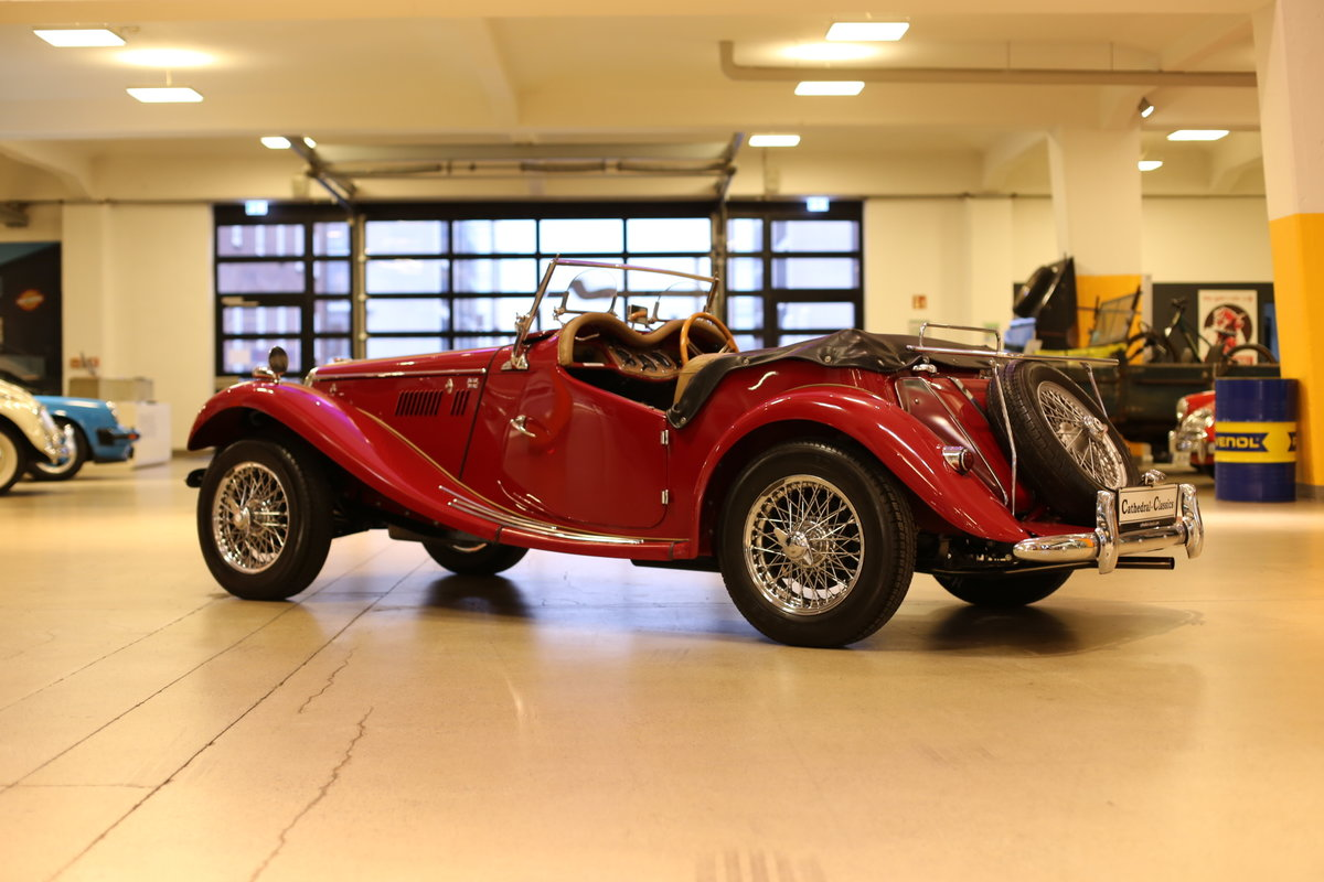 1954 A delightful, completely restored MG TF 1250 Midget SOLD (picture 9 of 12)