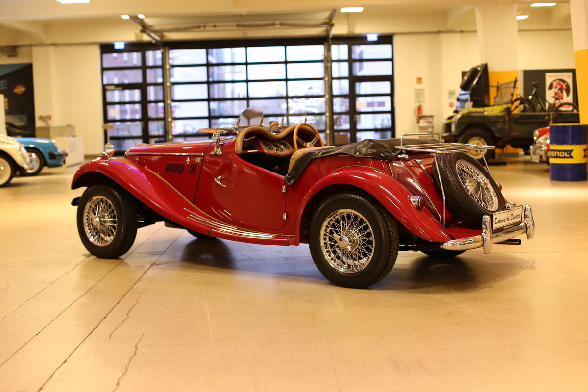 1954 A delightful, completely restored MG TF 1250 Midget SOLD (picture 12 of 12)
