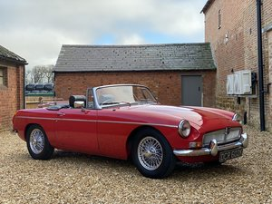 Picture of 1972 MGB Roadster, Only 48,000 Miles, 3 Previous Owners SOLD