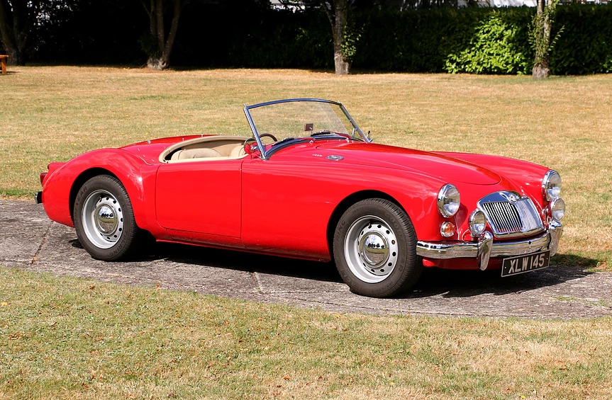 1959 MG A Roadster for self-drive hire For Hire (picture 1 of 6)