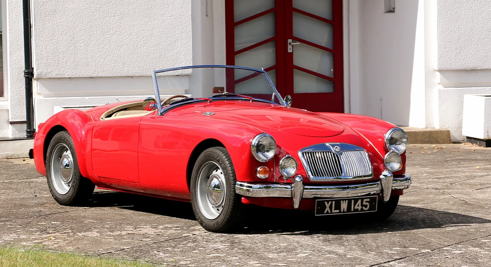 1959 MG A Roadster for self-drive hire For Hire (picture 3 of 6)