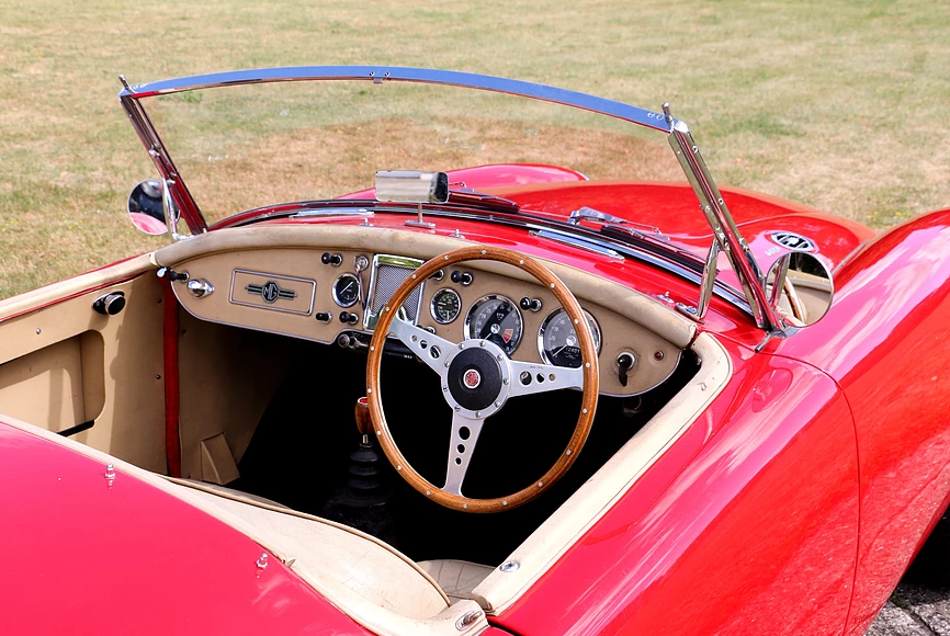 1959 MG A Roadster for self-drive hire For Hire (picture 4 of 6)