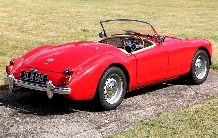 1959 MG A Roadster for self-drive hire For Hire (picture 5 of 6)