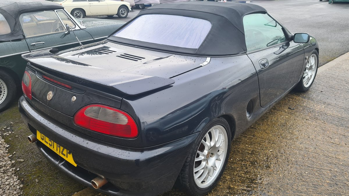 2001 MGF Freestyle, rare model For Sale (picture 2 of 4)