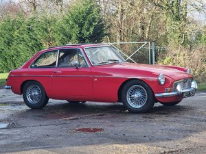 Picture of MG B GT, 1968, Tartan Red For Sale
