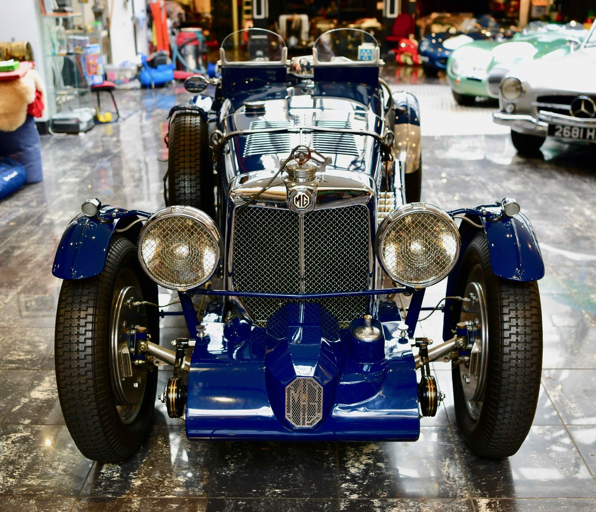 1934 MG MAGNETTE KN SPORTS TO 'K3' SPECIFICATION For Sale (picture 4 of 12)