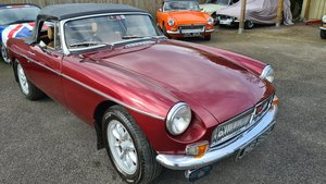 Picture of 1973 MGB Roadster, nightfire red, well known MGB For Sale