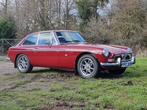 Picture of MG B GT, 1974, Damask Red, FULL HISTORY SOLD