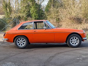 Picture of MG B GT, 1972, Blaze, Webasto sunroof For Sale