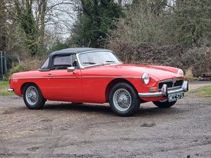 Picture of MG B Roadster, 1972, Red, Heritage Shell standard For Sale