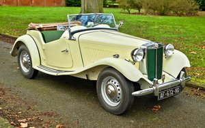 Picture of 1952 MGTD LEFT HAND DRIVE Nut & Bolt Restored For Sale
