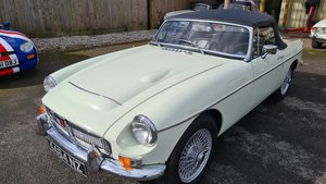 Picture of 1968 MGC Roadster , Snowberry white, wires and overdrive. For Sale