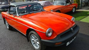 Picture of 1981 MGB one of the last built, Time warp example For Sale
