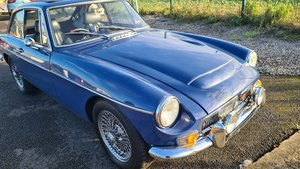 Picture of 1969 MGC GT Mineral Blue, Full rebuild, Sunroof For Sale
