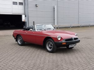 Picture of 1980 MGB Roadster - Just 19000 miles from new... For Sale by Auction