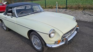 Picture of 1969 MGB Roadster MK2 in Snowberry white For Sale