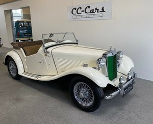 Picture of 1950 Wellkept MG TD 1,25 Roadster For Sale
