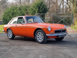 Picture of MG B GT, 1972, Blaze, Sunroof For Sale