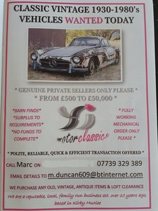 Picture of 1970 MGB GT'S WANTED TODAY ~ COLLECTED WITHIN 72 HRS!!! For Sale