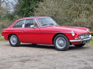 Picture of MG B GT Mk1, 1966, Tartan Red For Sale