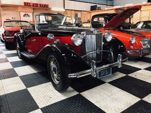 Picture of 1952 MG TD Formerly Owned by Candice Bergen For Sale