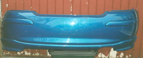 MG  ROVER  ZR REAR BUMPER AND REAR SPOILER For Sale (picture 1 of 2)