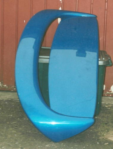 MG  ROVER  ZR REAR BUMPER AND REAR SPOILER For Sale (picture 2 of 2)