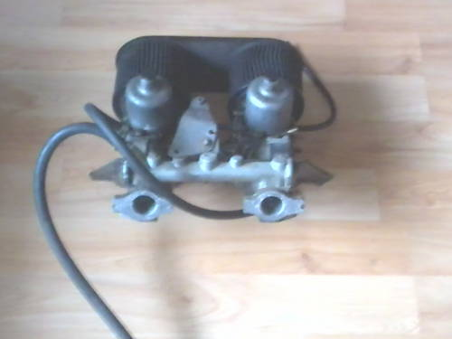 1PAIR OF MGB GT TWIN SU CARBS & BONNET / TAILGATE  For Sale (picture 2 of 4)
