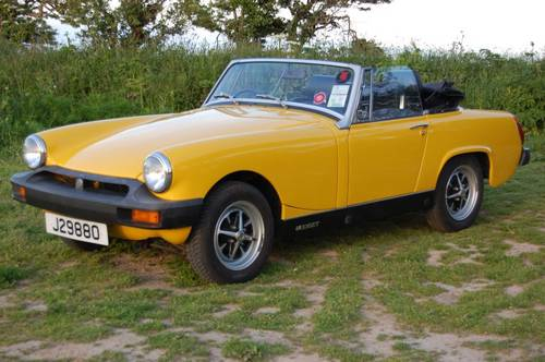 1978 MG Midget  Jersey Classic Hire . com For Hire (picture 1 of 6)