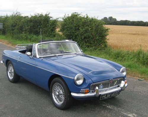 1969 MGC Roadster SOLD | Car And Classic