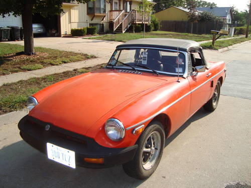 1980 MG MGB Convertible For Sale (picture 1 of 6)