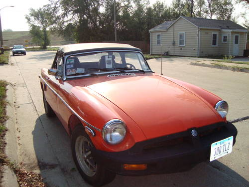 1980 MG MGB Convertible For Sale (picture 2 of 6)