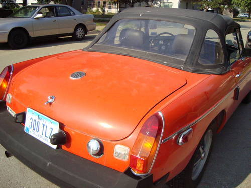 1980 MG MGB Convertible For Sale (picture 3 of 6)