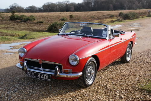 1972 MGB Roadster For Hire (picture 1 of 6)