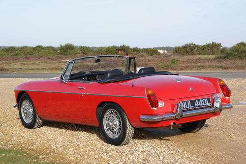 1972 MGB Roadster For Hire (picture 2 of 6)