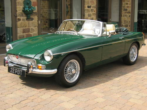 1971 MGB Roadster (£19,000 restoration) SOLD (picture 1 of 6)