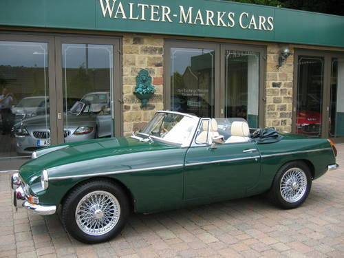 1971 MGB Roadster (£19,000 restoration) SOLD (picture 2 of 6)