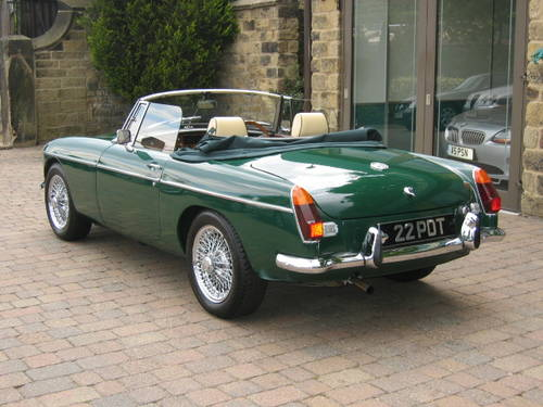 1971 MGB Roadster (£19,000 restoration) SOLD (picture 3 of 6)