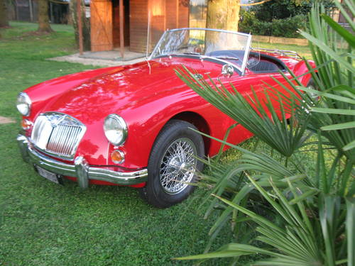 MG A 1600 Roadster 1960 For Sale (picture 1 of 5)