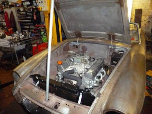 1973 Unfinished Project MG B Roadster V8 For Sale (picture 2 of 5)