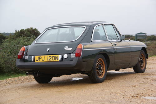 1975 MGB GT Jubilee For Hire (picture 2 of 6)